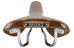 Brooks Swift Chrome Special Sadel Steel orange